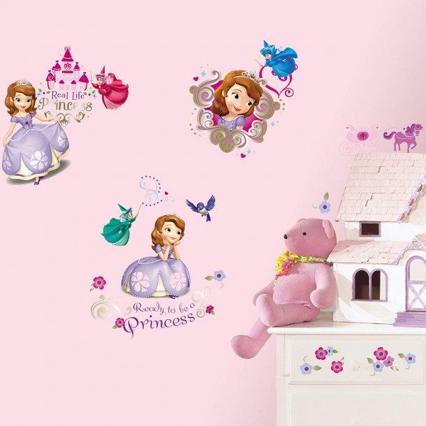 Wallsticker, prinsesse Sofia, Disney