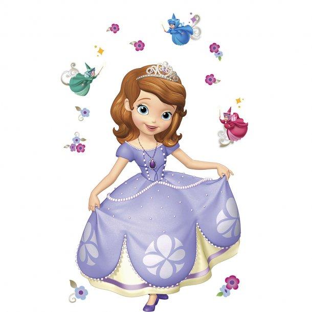 Gigant Wallsticker fra Disney, Prinsesse Sofia
