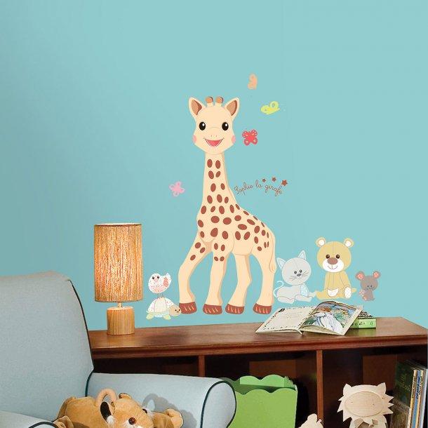 Sophie la girafe Giant - Wallsticker fra Roommate