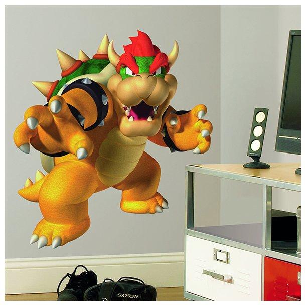 Wallstickers med Bowser fra Super Mario