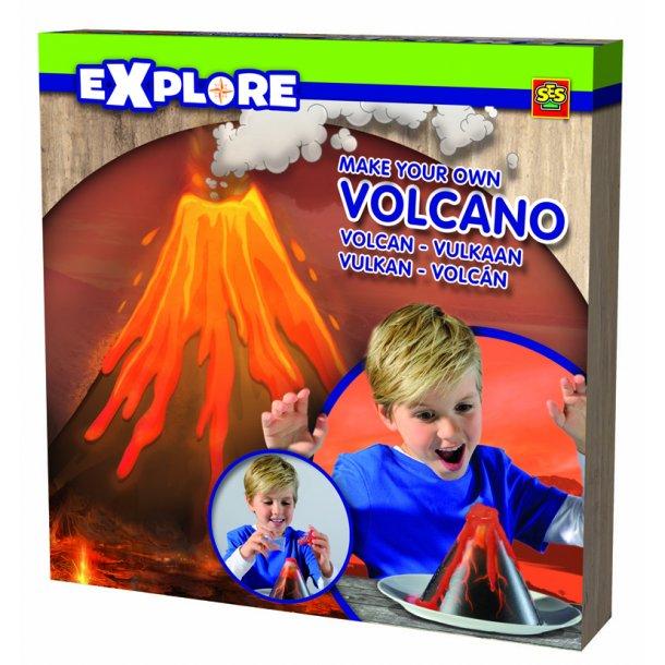 Lav din egen vulkan