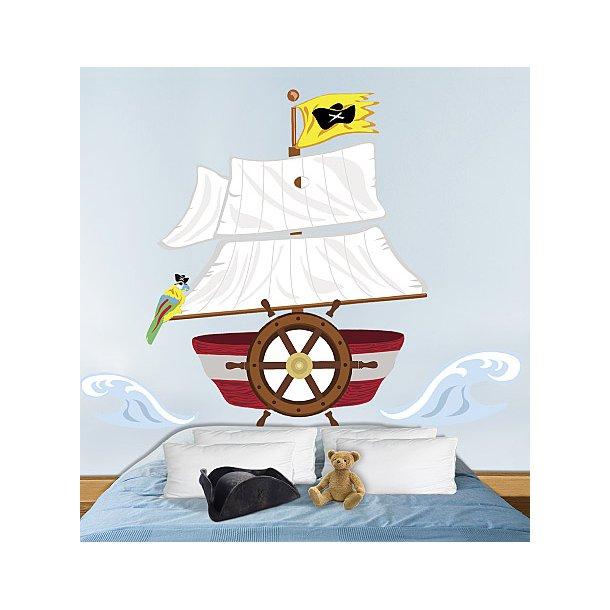 Pirat sengegavl