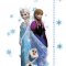 Højdemåler med kendte Frozen figurer