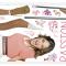 Wallsticker med Disneys populære Violetta