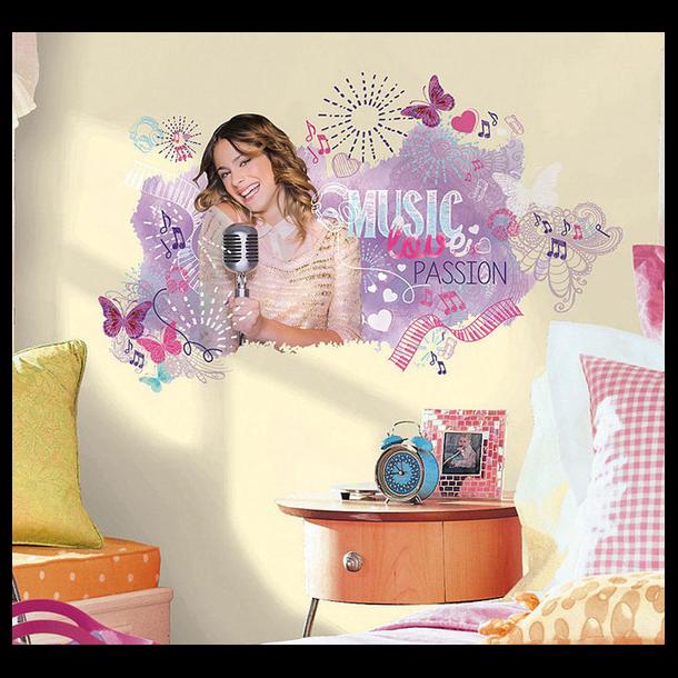 Wallsticker af den populære Violetta