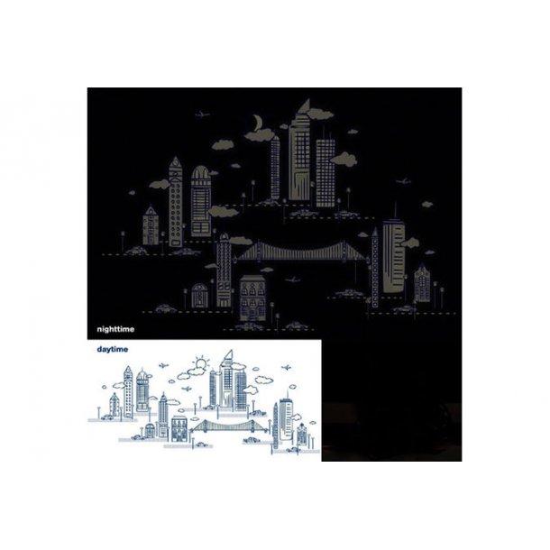 Skyline, nat og dag