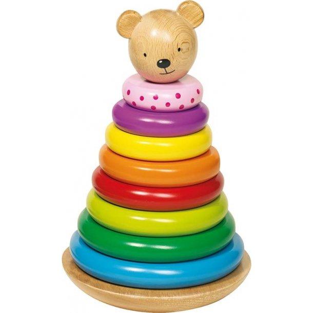 Stabletårn til børn - træringe
