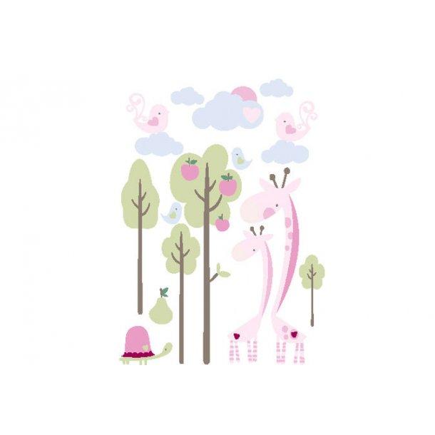 Wallsticker, Giraf