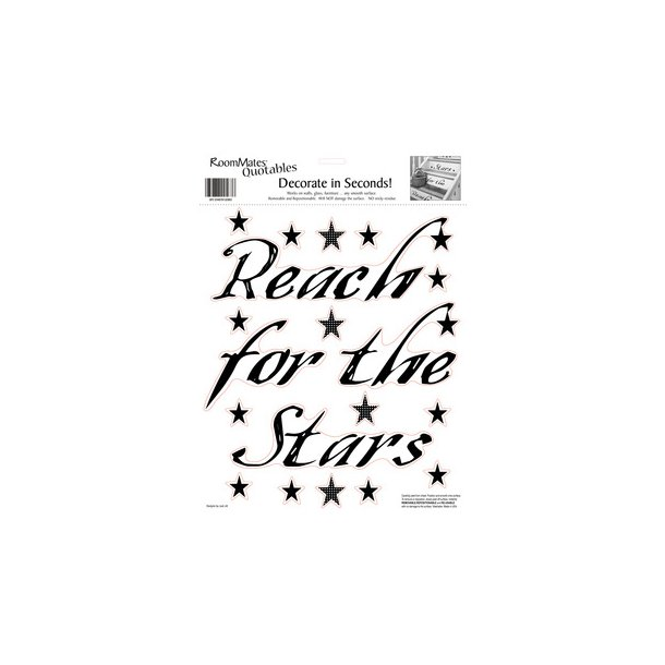 Wallsticker Reach for the stars