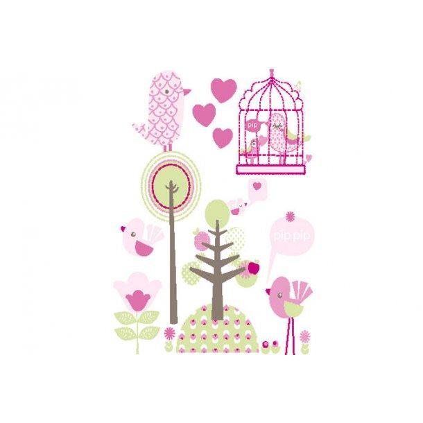 Wallstickers, Fuglen Pippi