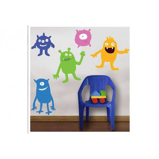 Wallstickers, 6 Monster